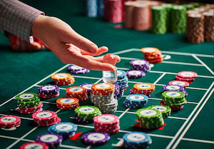 Roulette betting