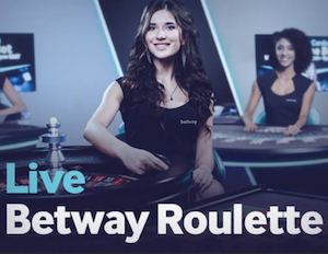 Betway - Live Roulette