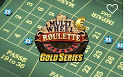 Casino Euro Multi wheel Roulette