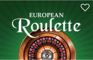 Casino-euro-European Roulette