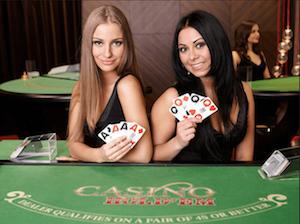 Live Dealer Holdem - Casino Holdem