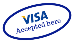 Visa accepted here
