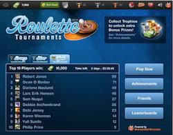 Facebook Roulette Tournaments