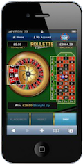 Roulette History Mobile Device