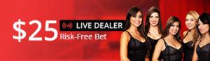 Betonline Live Casino Dealer Free Bonus