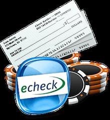 Online Casino eChecks Deposits