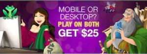 Slots.lv Mobile Casino Bonus